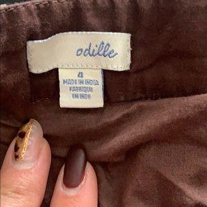 Anthropologie Skirts - Anthropologie Odille Ruffle Skirt Size 4